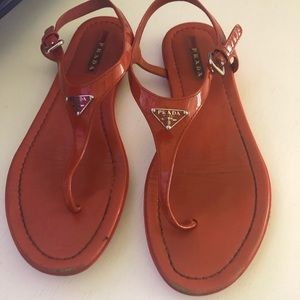 Prada sandals size 37
